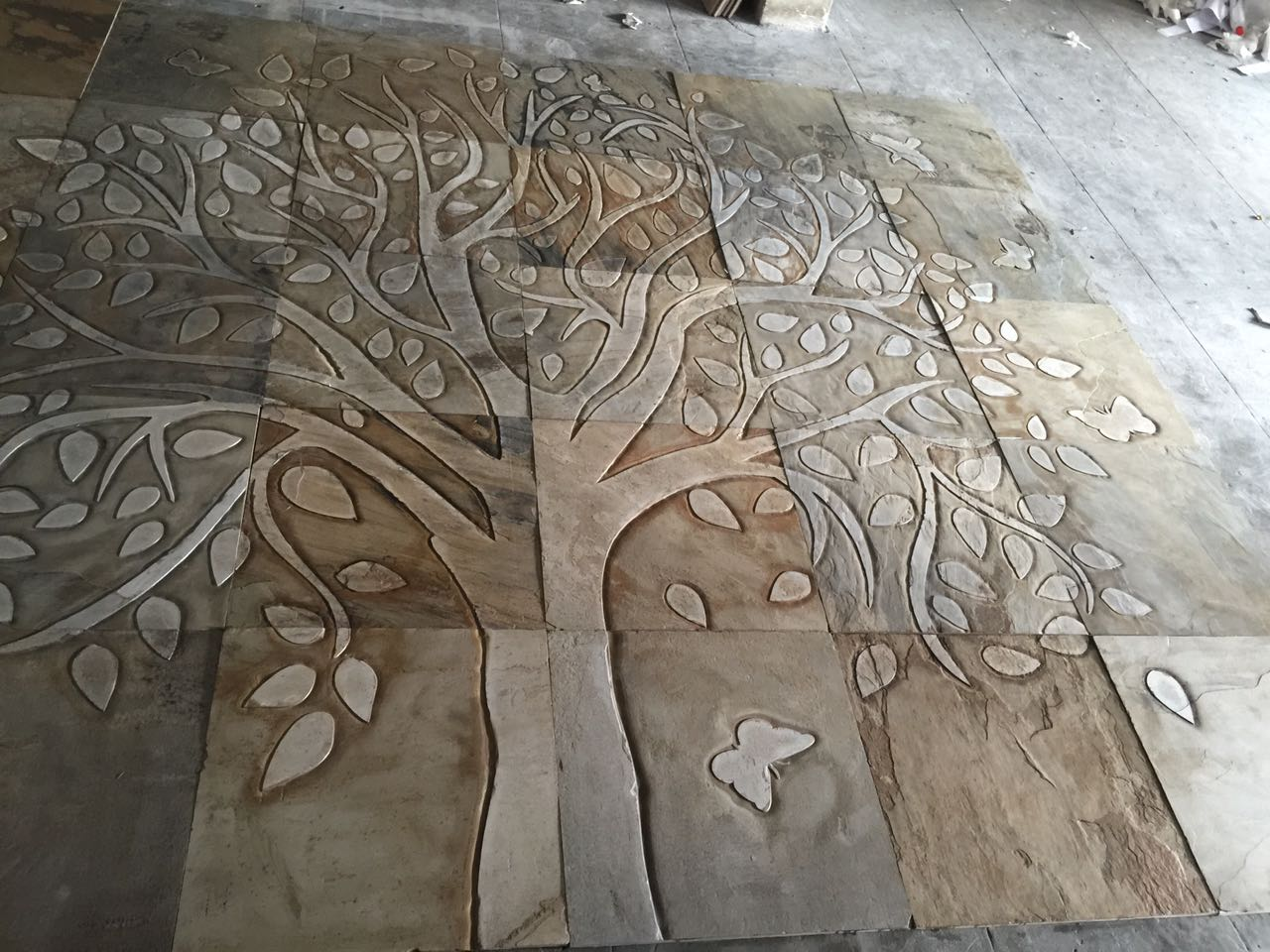 natural stone exporter suppliers manufacturer moon exports 3 stone wall murals