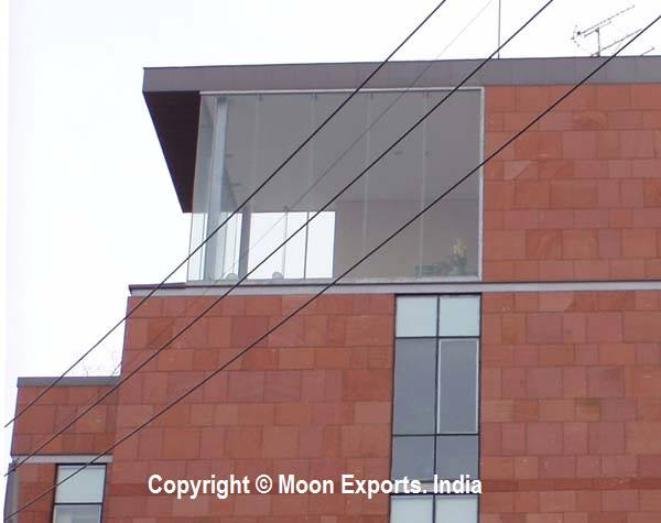 Dholpur Stone Elevation : Natural stone exporter suppliers manufacturer moon exports