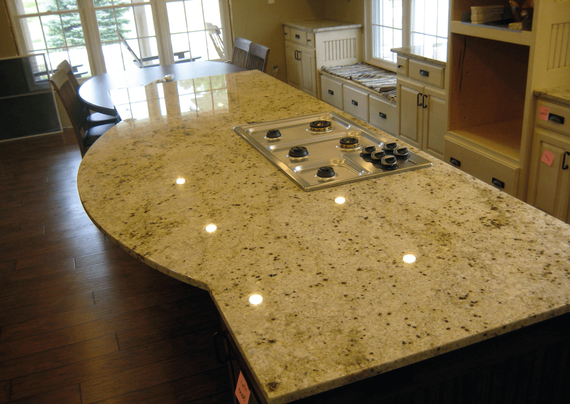 Colonial Gold Granite Kitchen Top